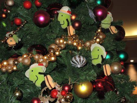 クリスマスツリー②(きてけろくん)