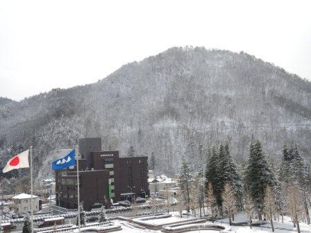 圧縮 雪景色①
