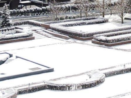 圧縮 雪景色②