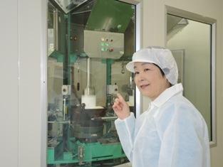 杵つき餅の工場見学