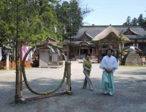 出羽三山神社(羽黒山)①