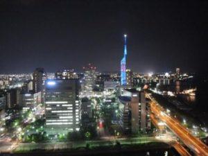 福岡タワー周辺(夜景)